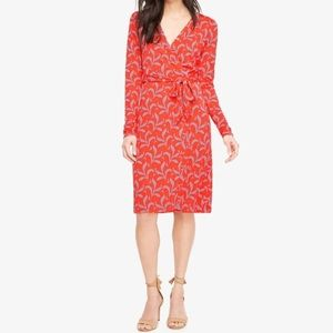 ANN TAYLOR Petite Slinky Wrap Dress
